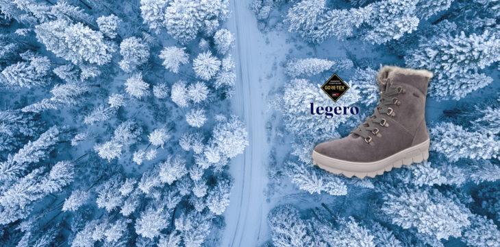 Der Schnee kann kommen!